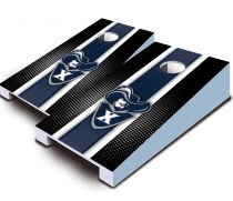 Xavier Musketeers Striped Tabletop Set