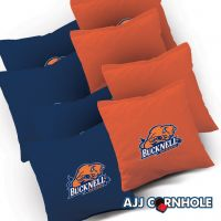 Bucknell Bison Cornhole Bags - Set of 8