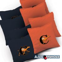 Campbell Fighting Camels Cornhole Bags - Set of 8