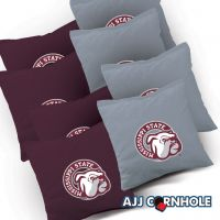Mississippi State Bulldogs Cornhole Bags - Set of 8