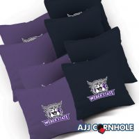Weber State Wildcats Cornhole Bags - Set of 8