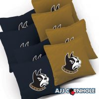 Wofford Terriers Cornhole Bags - Set of 8