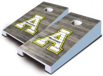 App State Mountaineers Distressed Tabletop Set