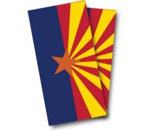 """Arizona Flag"" Cornhole Wrap"