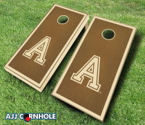 Army Black Knights Stained Cornhole Set