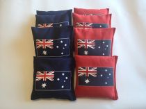 """Australian Flag"" Cornhole Bags - Set of 8"