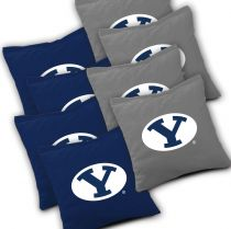 BYU Cougars Cornhole Bags - Set of 8