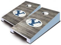 BYU Cougars Distressed Tabletop Set