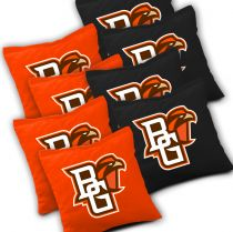 Bowling Green Falcons Cornhole Bags - Set of 8