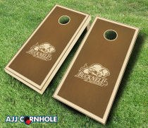 Bucknell Bison Stained Cornhole Set