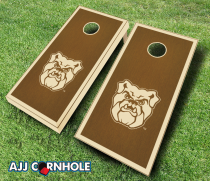 Butler Bulldogs Stained Cornhole Set