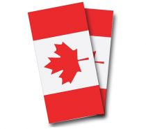 """Canadian Flag"" Cornhole Wrap"