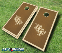 Central Florida Knights Stained Cornhole Set