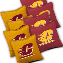 Central Michigan Chippewas Cornhole Bags - Set of 8