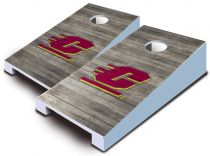 Central Michigan Chippewas Distressed Tabletop Set