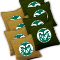 Colorado State Rams Cornhole Bags - Set of 8