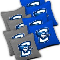 Creighton Bluejays Cornhole Bags - Set of 8