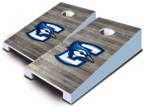 Creighton Bluejays Distressed Tabletop Set