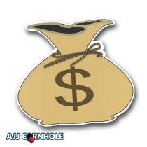 Moneybags Cornhole Decal