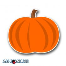 Pumpkin Cornhole Decal