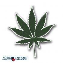 Cannabinoid Cornhole Decal