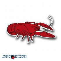 Crooked Crawdad Cornhole Decal