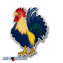Rooster Cornhole Decal