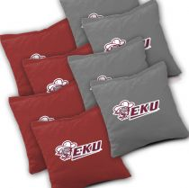 Eastern Kentucky Colonels Cornhole Bags - Set of 8
