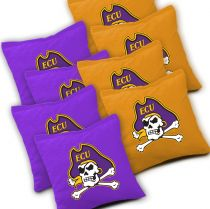 East Carolina Pirates Cornhole Bags - Set of 8