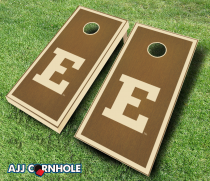 Eastern Michigan Eagles Stained Cornhole Set