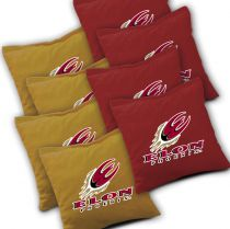 Elon Phoenix Cornhole Bags - Set of 8