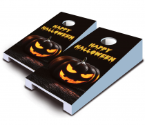"""Happy Halloween"" Tabletop Cornhole Set"