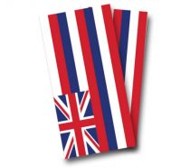 """Hawaii Flag"" Cornhole Wrap"