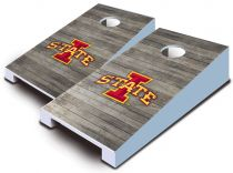 Iowa State Cyclones Distressed Tabletop Set