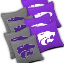 Kansas State Wildcats Cornhole Bags - Set of 8