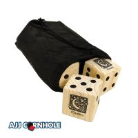Celtic Monogram Lawn Dice Game