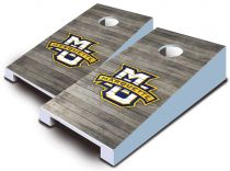 Marquette Golden Eagles Distressed Tabletop Set