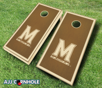 Maryland Terrapins Stained Cornhole Set