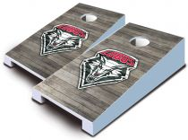 New Mexico Lobos Distressed Tabletop Set