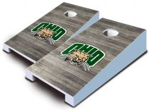 Ohio Bobcats Distressed Tabletop Set