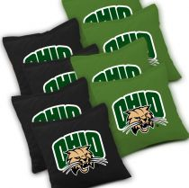 Ohio Bobcats Cornhole Bags - Set of 8