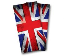 """British Flag Punk"" Cornhole Wrap"