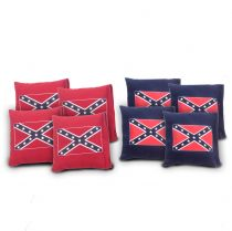 """Confederate Flag"" Cornhole Bags - Set of 8"