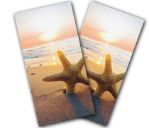 """Starfish Beach"" Cornhole Wrap"