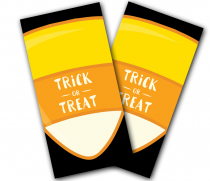 """Trick or Treat"" Cornhole Wrap"