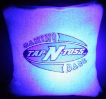 """Tap-N-Toss"" Lighted Cornhole Bags - Set of 8"