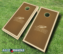 Toledo Rockets Stained Cornhole Set