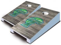Tulane Green Wave Distressed Tabletop Set