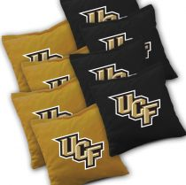Central Florida Knights Cornhole Bags - Set of 8