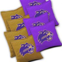 Western Carolina Catamounts Cornhole Bags - Set of 8